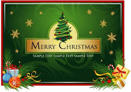 free beautiful christmas cards beautiful christmas card vector free vector in encapsulated