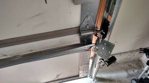 in some cases garage door panels can be repaired by using extra struts you might be able to reinforce the ed section and give your garage door some