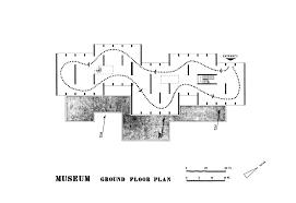 Museum Circulation Design Museum Of Mohenjo Daro Ground Floor Circulation Plan