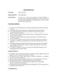Nail Technician Resume Examples
