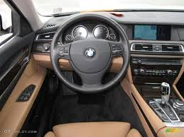 All BMW Models 2010 bmw 750i : 2010 BMW 7 Series 750Li Sedan Saddle/Black Nappa Leather Dashboard ...