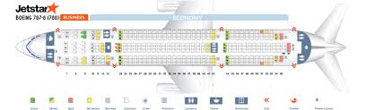 Boeing Dreamliner Seating Chart Seat Map Boeing 787 8 Dreamliner Jetstar Best Seats In The