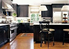 Black Kitchen Cabinets Gothic Black Kitchen Cabinets The Kitchen Inspiration