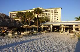 sirata beach resort s wide stretch of sand in st petersburg florida
