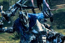 artorias the abysswalker is built up as a legend throughout the runtime of dark souls and when you face off with him in the dlc named after him it almost