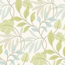 wallpaper pattern modern green.  Green Beacon House Eden Green Modern Leaf Trail Wallpaper Sample And Pattern Home Depot