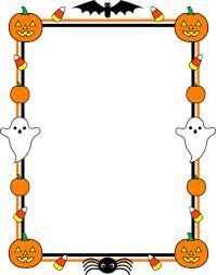 halloween candy clipart border. Brilliant Clipart Halloween Clip Art  Cute Border Frame  Free To Candy Clipart