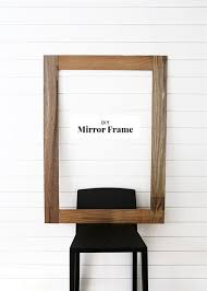 diy mirror frame the faux martha