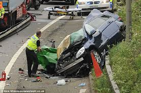Two women killed in head-on crash after lorry careers across six ...