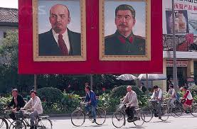 lenin and stalin 92nd anniversary of the great october socialist revolution lenin