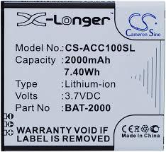 ACER Liquid C1 Part NO BAT-2000 ...