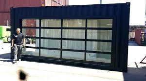clear garage door clear garage doors commercial glass garage door full view aluminum clear glass clear garage doors clear garage door keypad