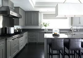 gray kitchen cabinets concrete white and grey countertops ideas for