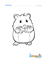 Small Picture Hamster coloring pages wwwbloomscentercom