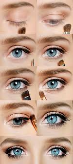 description my every day eye makeup it makes blue eyes