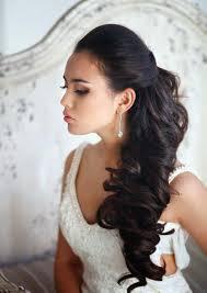 Coiffure Mariée Brune Cheveux Long