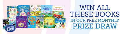 monthly free prize draw usborne books at