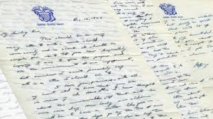 Letter World Read A Love Letter George H W Bush Sent To Barbara Bush During