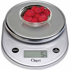 Small Kitchen Weighing Scales Ozeri Pronto Digital Multifunction Kitchen And Food Scale