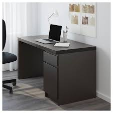 desktop computer furniture. IKEA MALM Desk Can Be Placed In The Middle Of A Room Because Back Is Desktop Computer Furniture .
