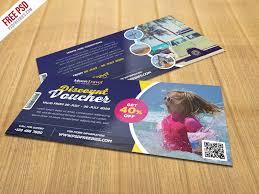 travel voucher template free travel and trip discount voucher psd template psdfreebies com