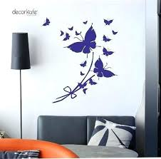 wall decor stickers multiple decor good looking wall decals classic erfly flower home decoration stickers size wall decor stickers