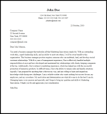 sample cover letter business professional business letters
