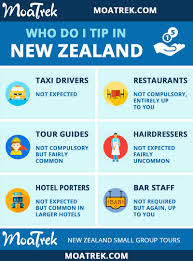 Tipping Chart Usa Do I Need To Tip In New Zealand Moatrek New Zealand Tours