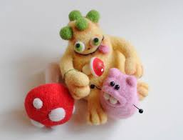 Мастер класс для начинающих: техника сухого <b>валяния</b> игрушек ...