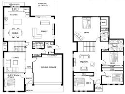 3 bedroom ranch house plans with basement unique 2 story 4 bedroom floor plans unique affordable