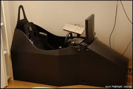 last photo of my race sim cockpit