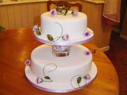 Walmart Bakery New Ulm 3 Tier Wedding Cake Decorated Listing