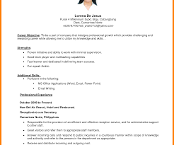 Resume Goal Statement Appealing Nicu Nurse Resume For School Sample Examples Home 23