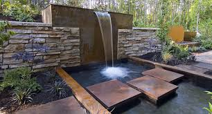 incredible garden wall water features water wall features for the garden alices garden