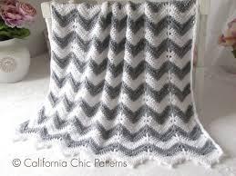 Crochet PATTERN 55 Crochet Baby Blanket Pattern Chevron & 🔎zoom Adamdwight.com