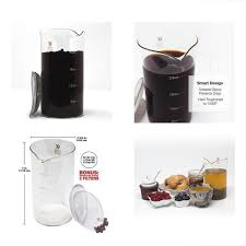french press replacement glass for bodum caf crush carafe club bonus steel fire