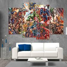 abstract marvel comics superheros 4 piece wall art canvas superman hulk ash wall decor  on marvel spiderman canvas wall art 4 piece with abstract marvel comics superheros 4 piece wall art canvas superman