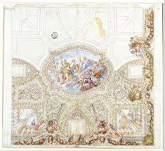 Decoration For Project Filegiacinto Calandrucci Composition Study For A Ceiling