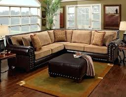 leather studded couch leather studded sectional tan leather studded sofa