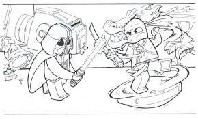 Small Picture Lego Ninjago Coloring Pages Print Free Printable Ninjago Coloring