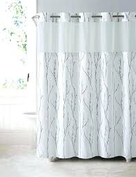 modern contemporary hookless shower curtain liner extra long