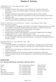 Resume Examples It Professional 1 Example It Pg2