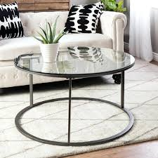 round coffee table metal clay alder home round glass top metal coffee table coffee table legs