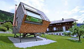 Small Picture Lloyds Blog Modern tiny house rental sits like a UFO in the