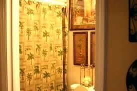 palm tree bath rug set bathroom accessory trees