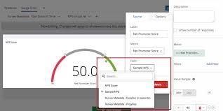 Chart Widget Gauge Chart Widget Cx Qualtrics Support