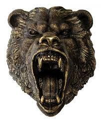 <b>Фигурка Art East</b>, Голова <b>Медведя</b> Рычащего, 50 См, Все Для ...