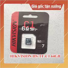 Thẻ nhớ HIKVISION 64GB HS-TF-C1 - Chuyên dùng cho Camera Wifi