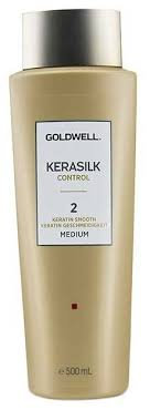 Goldwell KERASILK KERATIN TREATMENT SMOOTH 2 Medium ...