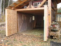 How To Build A Hinged Barn Door - Doors Garage Ideas